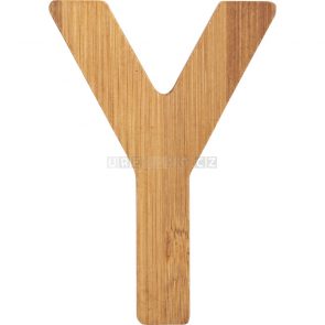 small foot Bambusové písmeno Y [12078]
