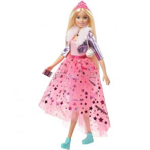 Mattel Barbie Princess Adventure Princezna blondýnka GML76