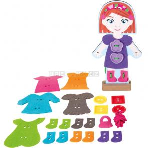small foot Oblékání panenky [10185]