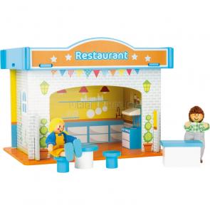 small Restaurant s příslušenstvím herní sada [10852]