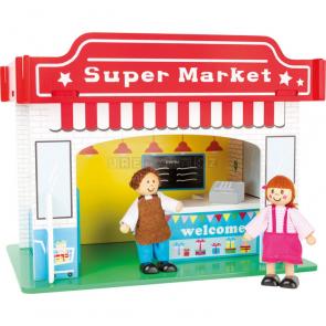 small foot Supermarket s příslušenstvím herní sada [10853]