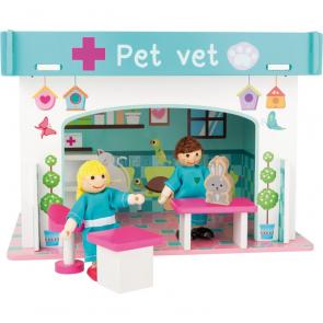small foot Veterinární klinika s příslušenstvím herní sada [10854]