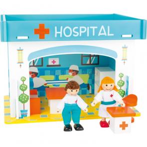 small foot Nemocnice s příslušenstvím herní sada [10857]