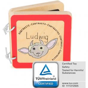 small foot Dřevěná knížka Ludwig [10862]