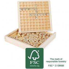 small foot Dřevěná hra Scrabble [10952]