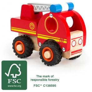 small foot Dřevěné hasičské auto s žebříkem [11075]