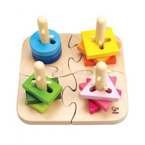 Hape Chytré puzzle nasouvací [E0411]
