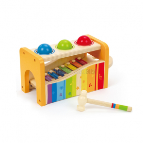 Hape Zatloukačka s xylofonem [E0305]