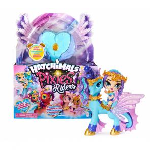 Spin Master Hatchimals pixies panenky se zvířátkem a doplňky modré-modrá křídla [6059381]