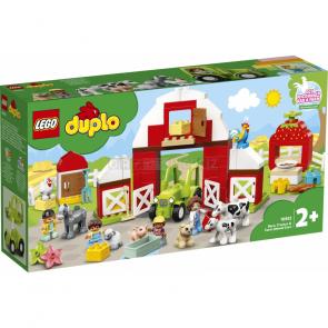 LEGO Duplo 10952 Stodola, traktor a zvířátka z farmy [10952]