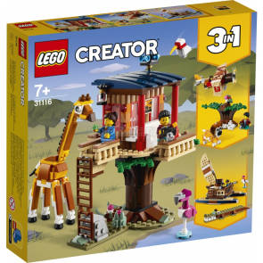 LEGO Creator 31116 Safari domek na stromě [31116]