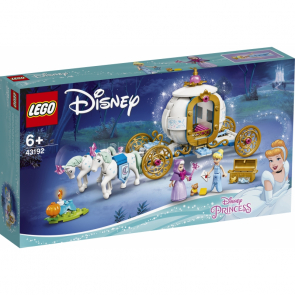 Lego Disney Princess 43192 Popelka a královský kočár [43192]