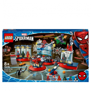 LEGO Spiderman 76175 Útok na pavoučí doupě [76175]