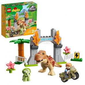 LEGO DUPLO 10939 T-Rex a Triceratops na útěku [10939]