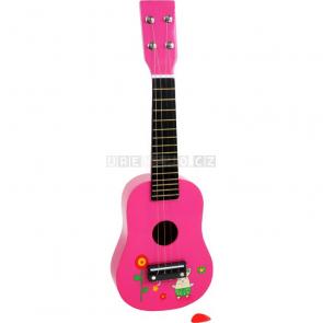 Dětská kytara s obrázky