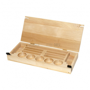 Dřevěná krabička na korálky