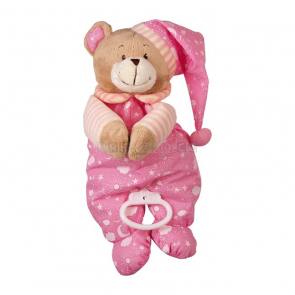 Ukolébavka medvídek růžový