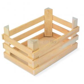 Přepravka dřevěná velká (3 kusy v sadě)