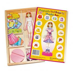 Magnetické oblékání panenky