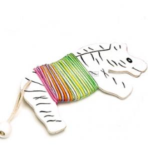 Skákací guma Zebra